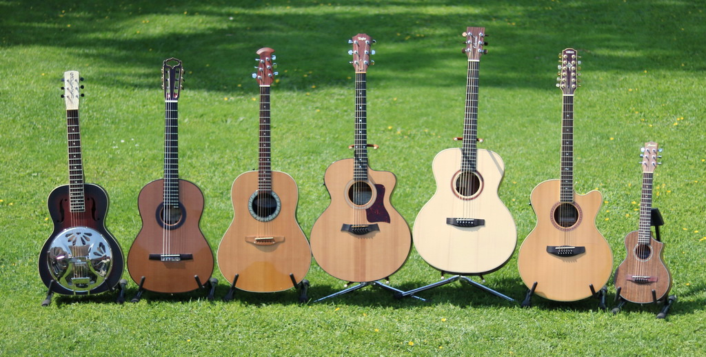 Meine Akustikgitarren